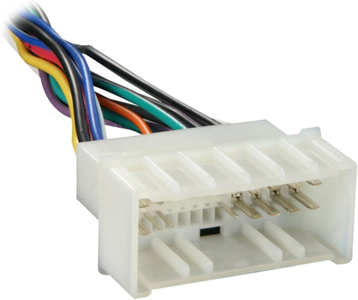 amazon.com: metra 70-1004 radio wiring harness for 04-up kia/06-up hyndai:  car electronics  amazon.com