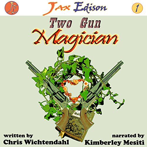 Two Gun Magician audiobook cover art