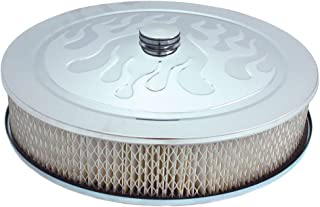Spectre Performance (4758) 14 x 3 Chrome Flamed Air Cleaner