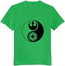 StaBe Man Star Wars Yin Yang T-Shirt Pre-cotton Cool M KellyGreen