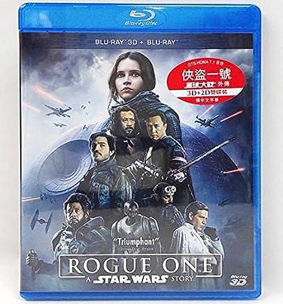 Rogue One: A Star Wars Story 2D + 3D (Region A Blu-Ray) (2 Disc Hong Kong Version / English Language. Mandarin Dubbed) 俠盜一號: 星球大戰外傳