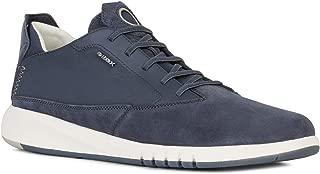 Geox U Aerantis, Men's Fashion Sneakers, Blue (Dark Avio C4067), 40 EU