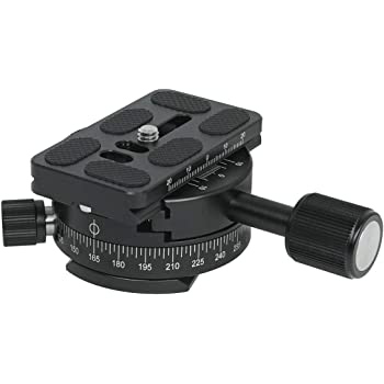 iShoot Arca Type Quick Release Plate Adapter Sachtler Fluid Head Converter for Converting Arca-Swiss Compatible with Sachtler Manfrotto Fluid Head of Manfrotto 500 700 Sachtler FSB//DV//ACE XL