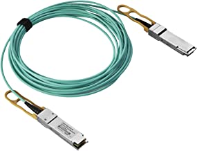 Macroreer 40G QSFP+ Active Optical Cable Ethernet and Infiniband QDR 7m(23ft) for Cisco QSFP-H40G-AOC7M