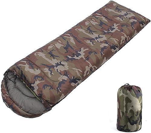 GaHpp Sac de Couchage,Sacs de Couchage légers de qualité supérieure pour Adultes,Sacs de Couchage d'été pour Le Camping randonnée en Plein air