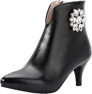 Melady Women Sweet Ankle Boots Kitten Heels