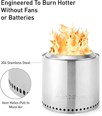 Solo Stove Ranger Outdoor Fire Pit Stainless Steel Portable Fire Pits for Wood Burning and Low Smoke great Fire Pit for S&#39