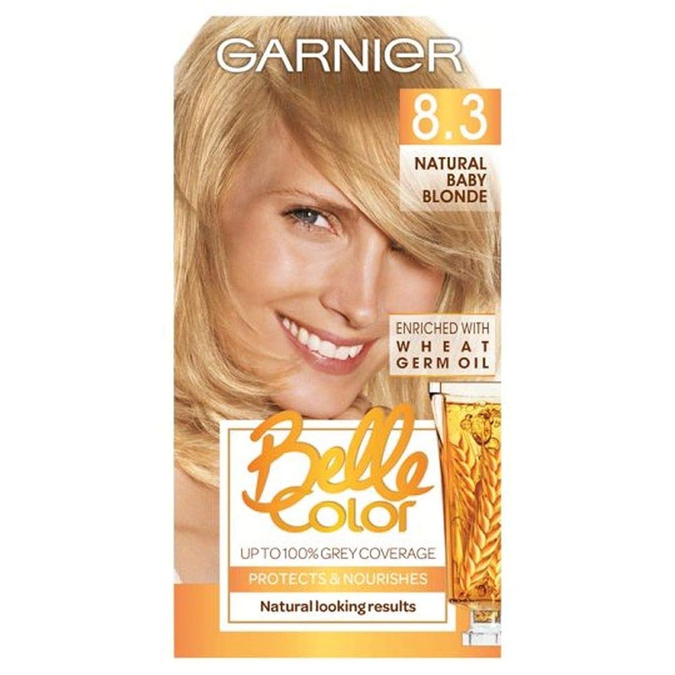負貸し手もし[Belle Color ] ガーン/ベル/Clr 8.3自然な赤ん坊ブロンドの永久染毛剤 - Garn/Bel/Clr 8.3 Natural Baby Blonde Permanent Hair Dye [並行輸入品]