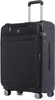 Uniwalker 軽量 スーツケース 容量拡張可能 防水加工 ソフト キャリーケース TSAロック ビジネス キャリーバッグ 機内持込 旅行用 出張