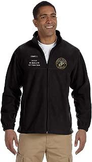 US Marine Corps Custom Embroidered Personalized Full-Zip Fleece