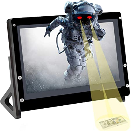 """7/"""" LCD+Touchscreen+Controller Board 1024x600 for Raspberry Pi4 B All Platform//PC"""