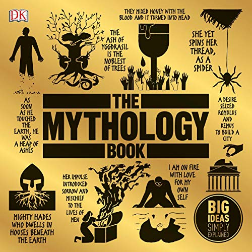 The Mythology Book audiobook cover art