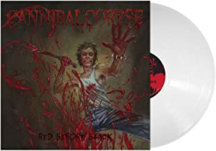 CANNIBAL-CORPSE RED BEFORE BLACK EXCLUSIVE WHITE vinyl [vinyl] CANNIBAL