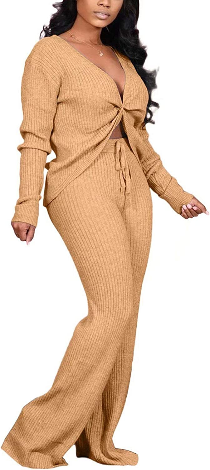 Aro Lora Womens Sexy 2 Piece Sales results No. 1 V Ribbed Jumpsuit Reversible Outfit Tulsa Mall