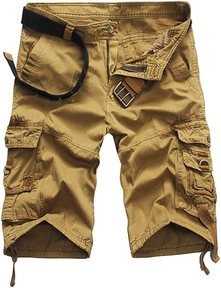 San Antonio Mall HGWXX7 Shorts for Men New product Casual Loose Beach Fit Pants Work Multi-Po