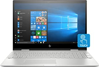 """HP Envy x360 Home and Business Laptop (Intel i7-8565U 4-Core, 64GB RAM, 2TB PCIe SSD, 15.6"""" Touch 4K UHD (3840x2160), GeFo..."""