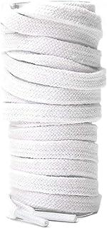 靴ひも シューレース 平紐 コットン 綿製 キャンバススニーカー用 120-160cm