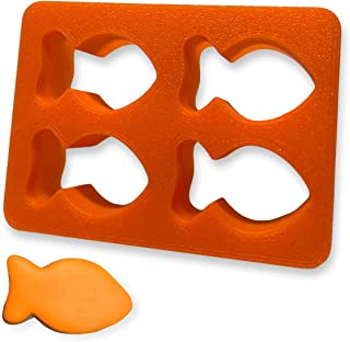 Mini Cookie Cutter   Orange Goldfish   Multi 4 Molds in 1   Dough Fondant Fish Shape For Baking Biscuit ers