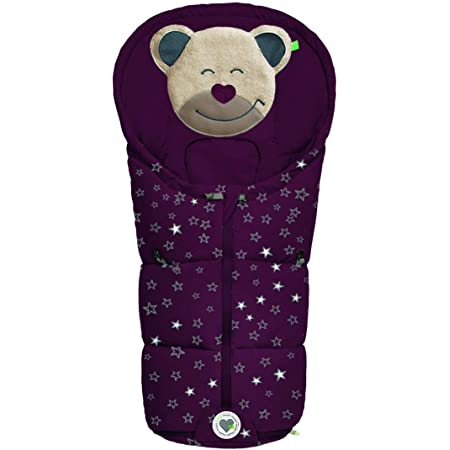 Odenwälder Mucki Fashion Sparkling Stars Farbe 1365 Black Berry Baby