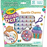 Crayola Glitter Dots Sparkle Charms, Kids Jewelry Crafts, Gift for Girls & Boys, Ages 5, 6, 7, 8