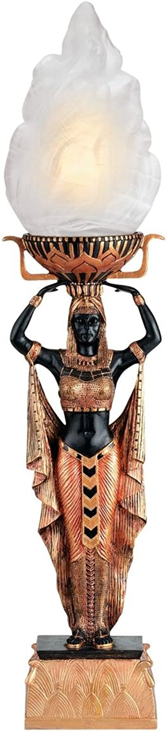Design Toscano Egyptian Torch Offering Table Lamp