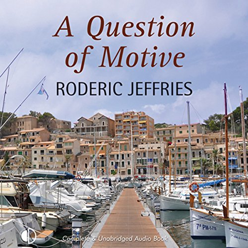 A Question of Motive audiobook cover art
