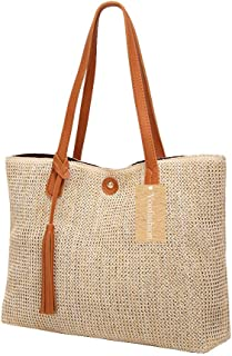 Yoofashion womens Straw Bag