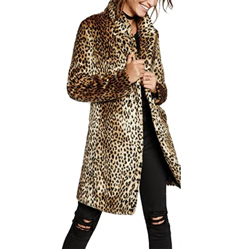 Women's Leopard Print Longline Blazer UK Size 8