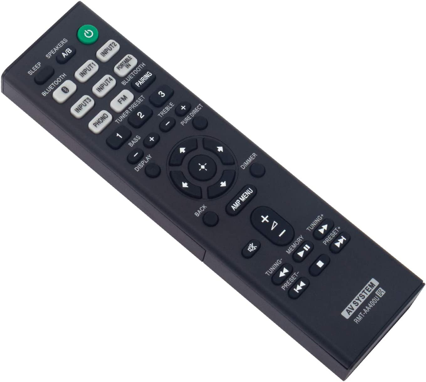 Selling RMT-AA400U Replace Remote Control High material WINFLIKE Co - RMTAA400U