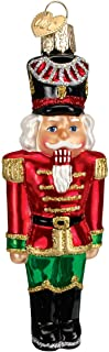 Old World Christmas Collection Glass Blown Ornaments for Christmas Tree Nutcracker