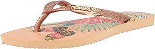 havaianas Women's Slim Crystal Mesh Sw II Flip Flops