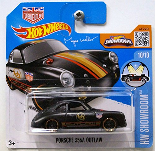 2016 Hot Wheels Porsche 356A Outlaw HW Showroom Black