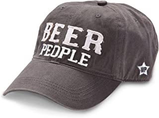 We People Beer People Baseball Cap Hat with Adjustable Strap, Gray