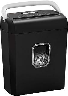 Bonsaii 8-Sheet Cross-Cut Paper Shredder, P-4 High-Security Credit Card & Staples Shredder Machine for Home Office Use, Po...