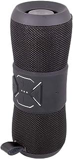 オウルテック ワイヤレスステレオスピーカー Bluetooth Ver.4.2 防水 IP67 取得/デュアルパッシブラジエーター / 連続再生20時間 1年保証 ブラック OWL-BTSP06-BK