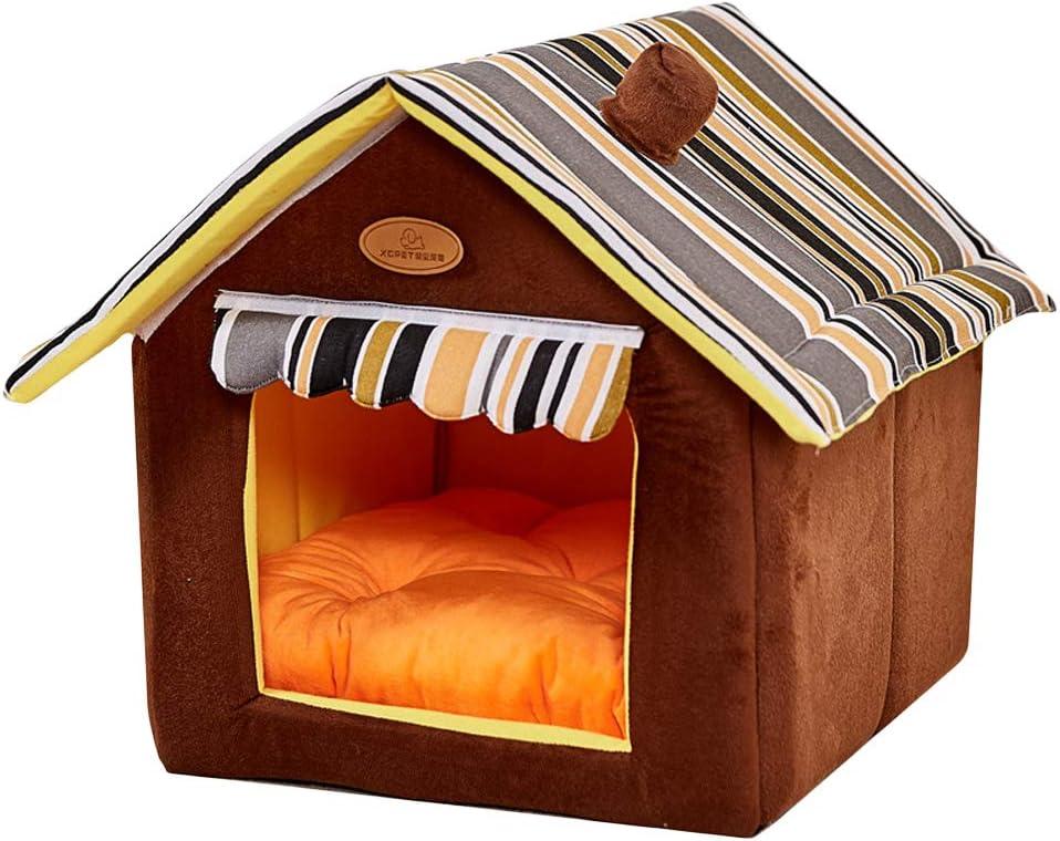 Price reduction Julvie Nashville-Davidson Mall Enclosed Dog House Cat Bed Soft Small Indoor Large Medium