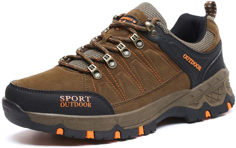DSFGHE Mans Hiking skor skor skor Lättvikta skor mot skidåkning Låg för att hjälpa till med gympalektionen skor  dagliga låga priser