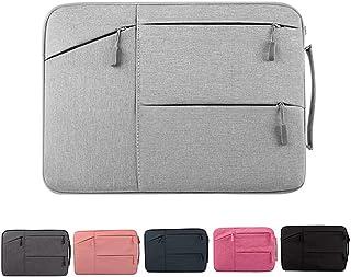 JJJJD Laptop Business Oxford Cloth Briefcase Messenger Tote Bag Casual Handbag for Notebook Computer Tablet MacBook Bag (Color : Gray, Size : 15.6inch)