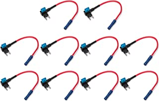 TONGXU Batteria Auto Clip-on accendisigari Presa Cavo Adattatore 12 V//24 V 3 m//3 m prolunga con portafusibili per Auto Nuova