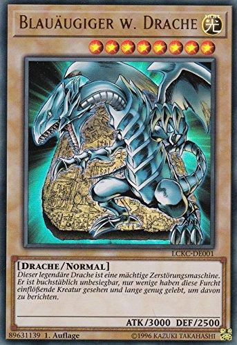 LCKC-DE001 - Blauäugiger w. Drache (Artwork 3) - Ultra Rare - Yu-Gi-Oh - Deutsch - 1. Auflage