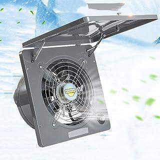 13 inch Ventilador Extractor silencioso, 220V extractor de aire Cocina de pared, ventilador de escape extractor de aire, ventilación súper silenciosa con Motor