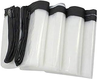SACYSAC Engrosado plástico Tela Impermeable, Tela Impermeable Transparente para la sombrilla al Aire Libre y la Lluvia, Cu...