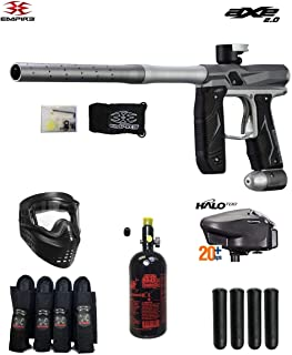 MAddog Empire Axe 2.0 Expert Paintball Gun Package - Dust Grey/Dust Silver