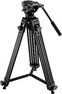 35-106cm Adjustable Height Camera accessories Live Broadcast Tripod 4-Section Folding Legs Aluminum Alloy Tripod Mount with U-Shape Three-Dimensional Tripod Head for DSLR /& Digital Camera
