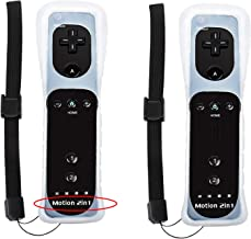 $45 » BATTOOL Motion 2 in 1 Wireless Remote Controller for Nintendo Wii and Wii U Video Game with Wrist Strap and Silicon Case (...