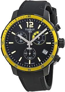 Tissot Black Dial SS Silicone Chronograph Quartz Men's Watch T0954493705700