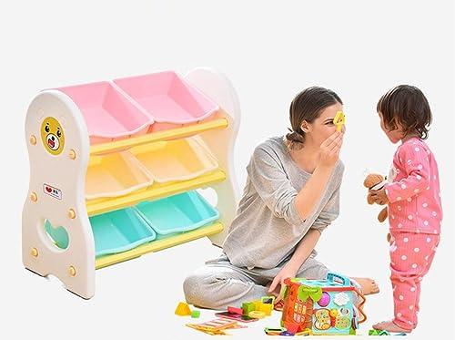 HUXINFEI Kids Locker Hochleistungssicherheit Umweltfreundliches Kunststoffkinderspielzeug-Lagerregal