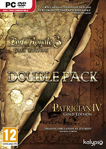 Patrician IV Gold and Port Royale 3 Gold Double Pack (PC DVD) [UK IMPORT]