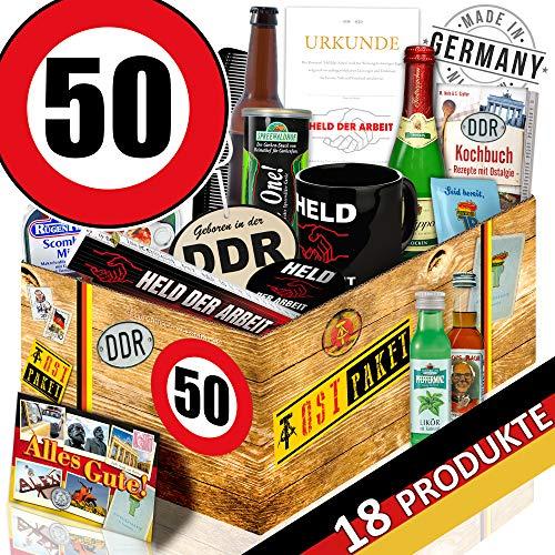 Männergeschenke DDR / DDR Männer Geschenkbox / Geburtstag 50 / Geschenk Set Papa