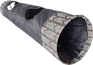 Modern Geometric Grey Cat Tunnel 2 Way Tube